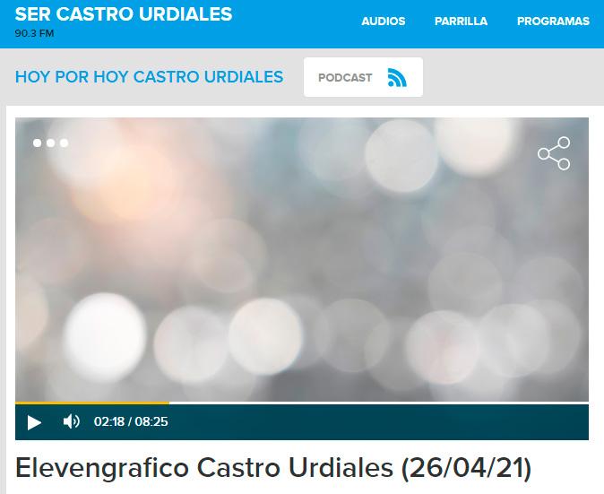 Entrevista en la Cadena Ser de Castro Urdiales