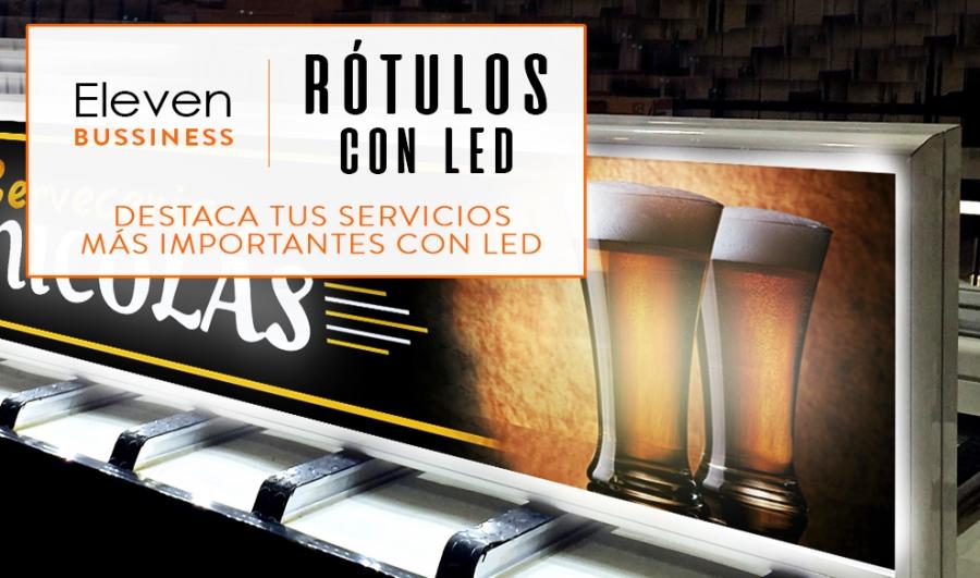 Instalación y Diseño de Rótulos Luminosos Iluminación LED en Cantabria y País Vasco
