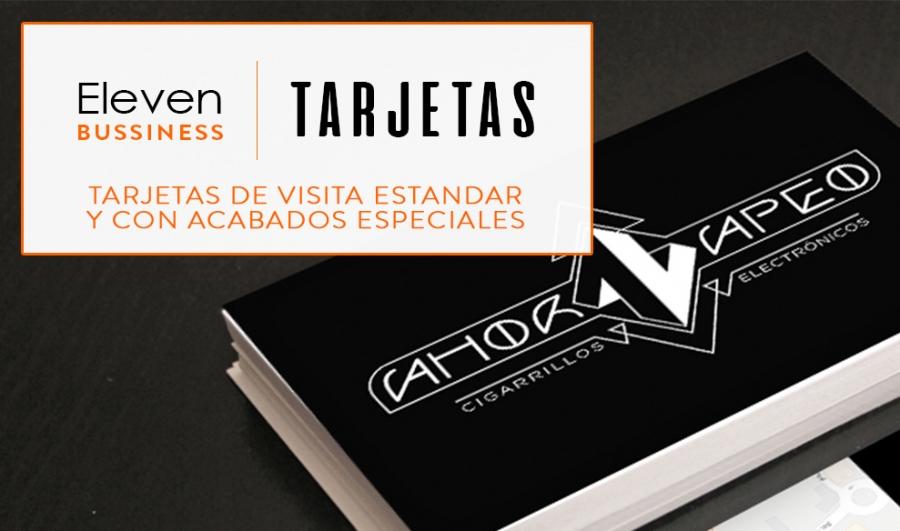 Diseño e impresión de Tarjetas en Cantabria y País Vasco