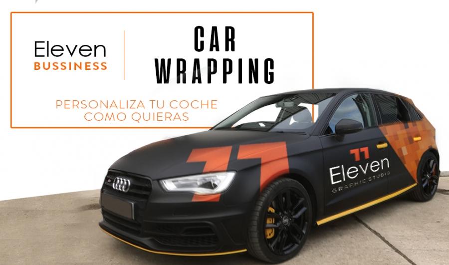 Car Wrapping en Cantabria y País Vasco. Vinilado completo de carrocería en Cantabria y País Vasco