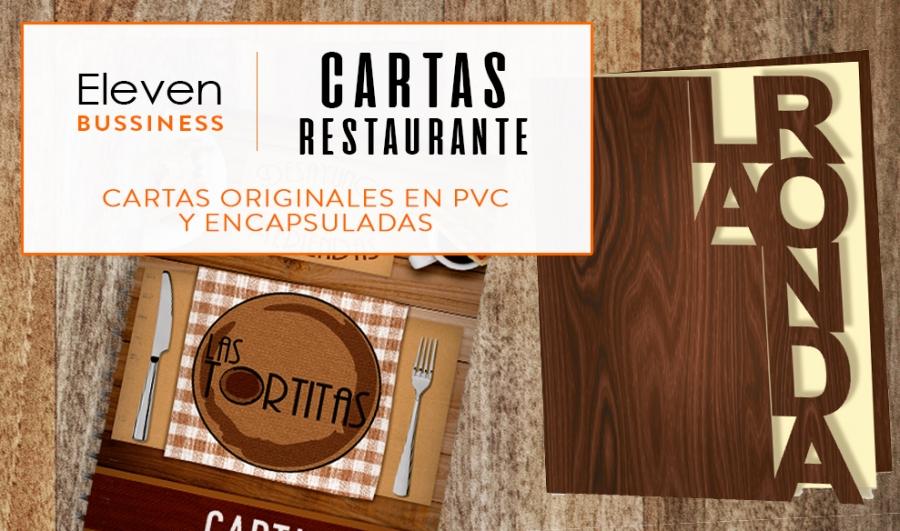 Diseño e impresión de Cartas para Restaurante en Cantabria y País Vasco