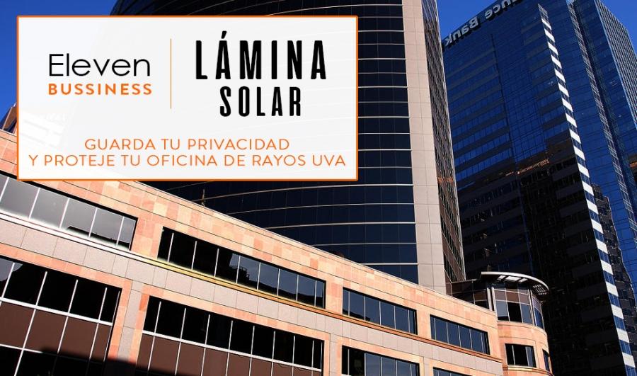 Disponemos de Lámina Solar para vehiculos. Lamina solar para el coche